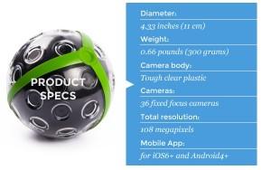 360度カメラ型ボール
