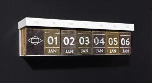 紅茶型カレンダー