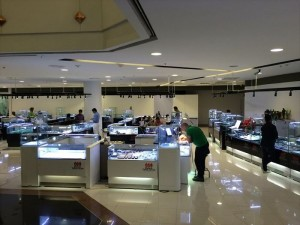 宝石市場 タイ