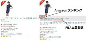 Amazonランキング 中国