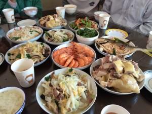 中国 旧正月 食事