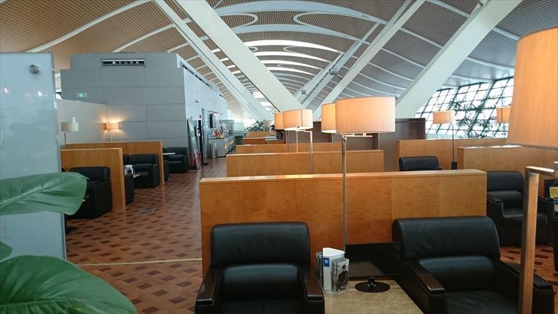 上海浦東空港 ラウンジ