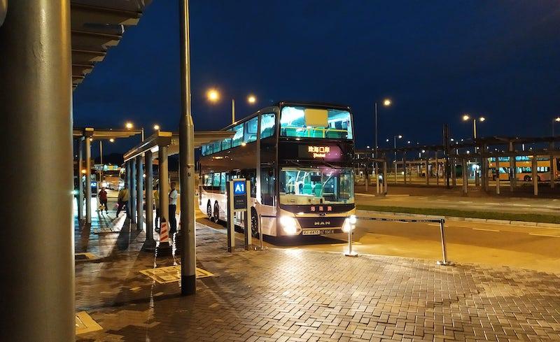 香港珠海行きバス