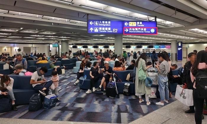香港空港 フェリー