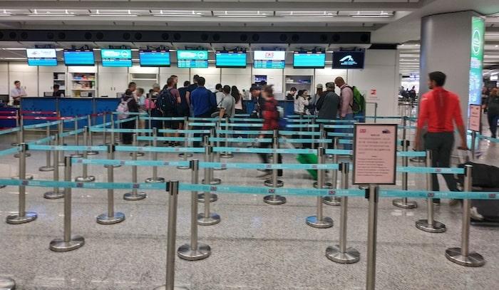 香港空港 フェリーチケット売り場