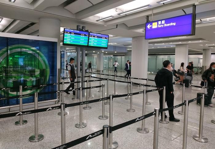 香港空港 フェリー 乗り場